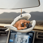 Bullmastiff sleeping angel Bullmastiff lover dog mom ornament