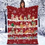 Golden Retriever - Christmas Blanket