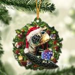 Turtle Christmas Gift Acrylic Ornament