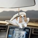 Cavalier King Charles Spaniel Sleeping Angel Dog Mom Ornament
