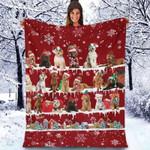 Labradoodle - Christmas Blanket