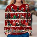 Rottweiler - Snow Christmas - Premium Sweatshirt