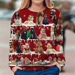 American Cocker Spaniel - Snow Christmas - Premium Sweatshirt