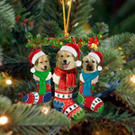 Anatolian Shepherd Christmas Socks Ornament