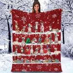 Whippet - Christmas Blanket