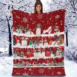 Papillon - Christmas Blanket