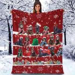 Gordon Setter - Christmas Blanket