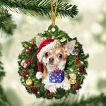 Chihuahua Christmas Gift Acrylic Ornament