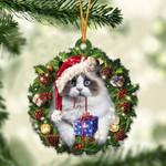 Ragdoll Christmas Gift Acrylic Ornament