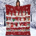 St Bernard - Christmas Blanket