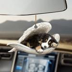 Bernese Mountain sleeping angel bernese mountain lovers dog lovers ornament