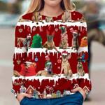 Belgian Malinois - Snow Christmas - Premium Sweatshirt