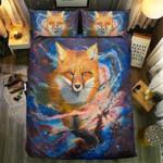 Fox Smile Colorful Bedding Set Bedroom Decor