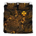 Polynesian Wallis And Futuna Gold Color Bn Bedding Set CAMLIVP