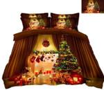 Christmas Romantic Candlelight CD Bedding Set INKPTE