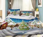 Christmas Rural Snow CD Bedding Set INKPJN