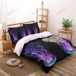 Jellyfish Under The Sea Printed Bedding Set Bedroom Decor