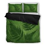 Green New Zealand Fern Bedding Set YIJI