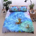 Dandelions Blue Ocean Printed Bedding Set Bedroom Decor