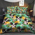 Boston Terrier Pineapple Bedding Set QADR