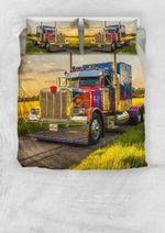 Truck I Am A Trucker OO Bedding Set BEVRIW