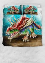 Colorful Gorgosuchus Printed Bedding Set Bedroom Decor 01