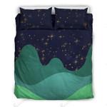 Fantasy Night Sky D7 Printed Bedding Set Bedroom Decor