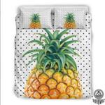 Hawaii Pineapple Dots Bedding Set IYMW