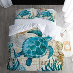 Turtle Be The Star Printed Bedding Set Bedroom Decor