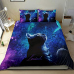 Cat Mandala Bedding Custom Name Duvet Cover Bedding Set #L