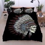 Native American Skull Bedding Set IYR