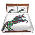 Wild And Free Unicorn Bedding Set Bedroom Decor
