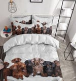 Dachshund Also Known As The Wiener Dog Or Sausage Dog Bedding Set Bedroom Decor 01