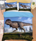 A Dinosaur Adventure Printed Bedding Set Bedroom Decor