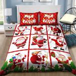 Christmas Santaclause Bedding Set QAII