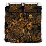 Polynesian Tuvalu Gold Color Bn Bedding Set CAMLI PMN