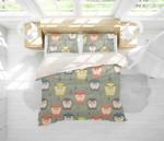 Owl HHCTH Bedding Set BEVR FNT