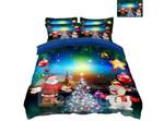 Santa Claus And Snowman ClhB Bedding Set CAMLILP