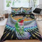 Hummingbird Color Printed Bedding Set Bedroom Decor