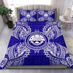 Polynesian Federated States Of Micronesian Map Bnd Bedding Set CAMLIHT