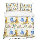 Owl Leaf HHCTH Bedding Set BEVRQT
