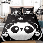Cute Panda Black Gs Cl Nt0401 Bedding Set QA4851 FRWE1508