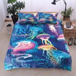 Jellyfish Marine Life  Bedding Set Bedroom Decor
