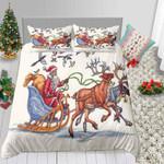 Santa Claus Painting CD Bedding Set INKPDK