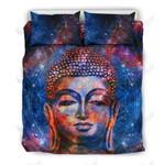 Buddha Galaxy Printed Bedding Set Bedroom Decor 01