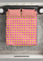 Cute Chick In A Row  Bedding Set Bedroom Decor