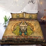 Ancient Egyptian Anubis Lord Of Egypt Bedding Custom Name Duvet Cover Bedding Set #DH