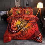 Colorful Lizard Vintage Printed Bedding Set Bedroom Decor 01