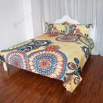 Kaleidoscope Mandala Flowers Bedding Set Bedroom Decor