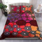 Australia Aboriginal Aboriginal Patterns Bedding Set DSOI